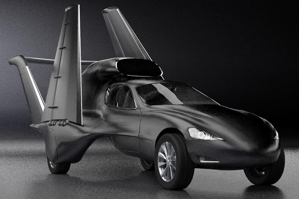 A group from California is designing a new super utility vehicle – a jet-powered flying car