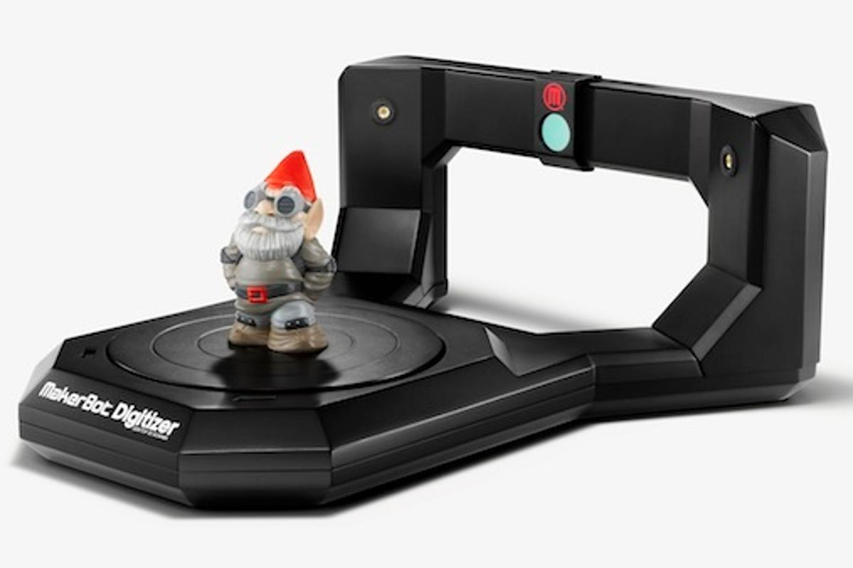 MakerBot's Digitizer 3D scanner – gnome not included (Photo: Spencer Higgins)