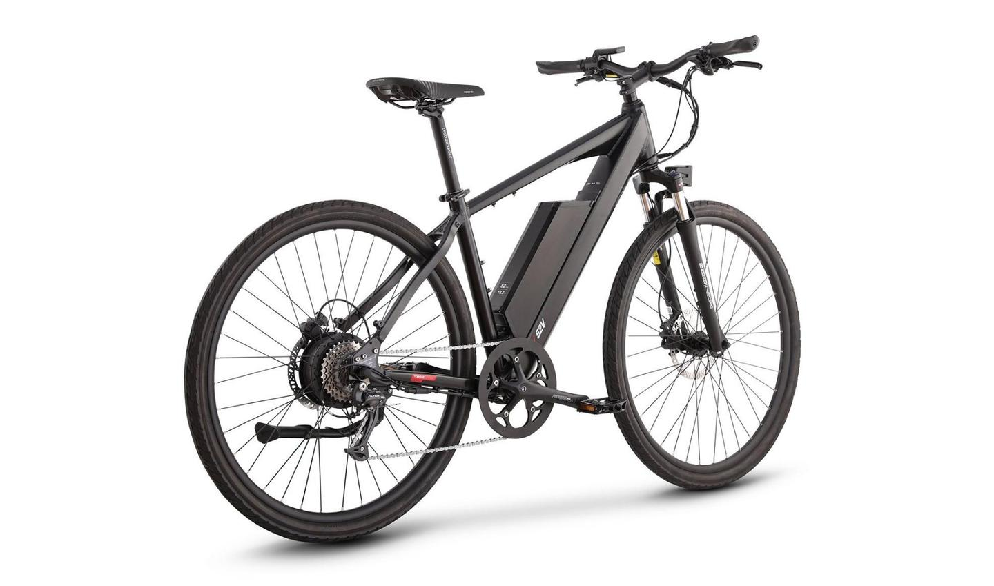 The Juiced CrossCurrent S2 gets 50-100-mile ranges with pedal assist