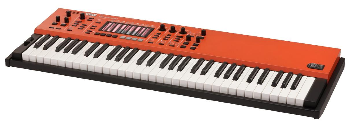 The 2017 Vox Continental keyboard doesn't have the reversed-color keys of old but does rock three sound engines for classic organ and piano sounds