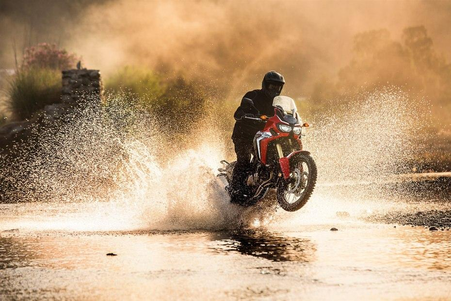 Honda has given the CFR1000L Africa Twin some major off-road chops