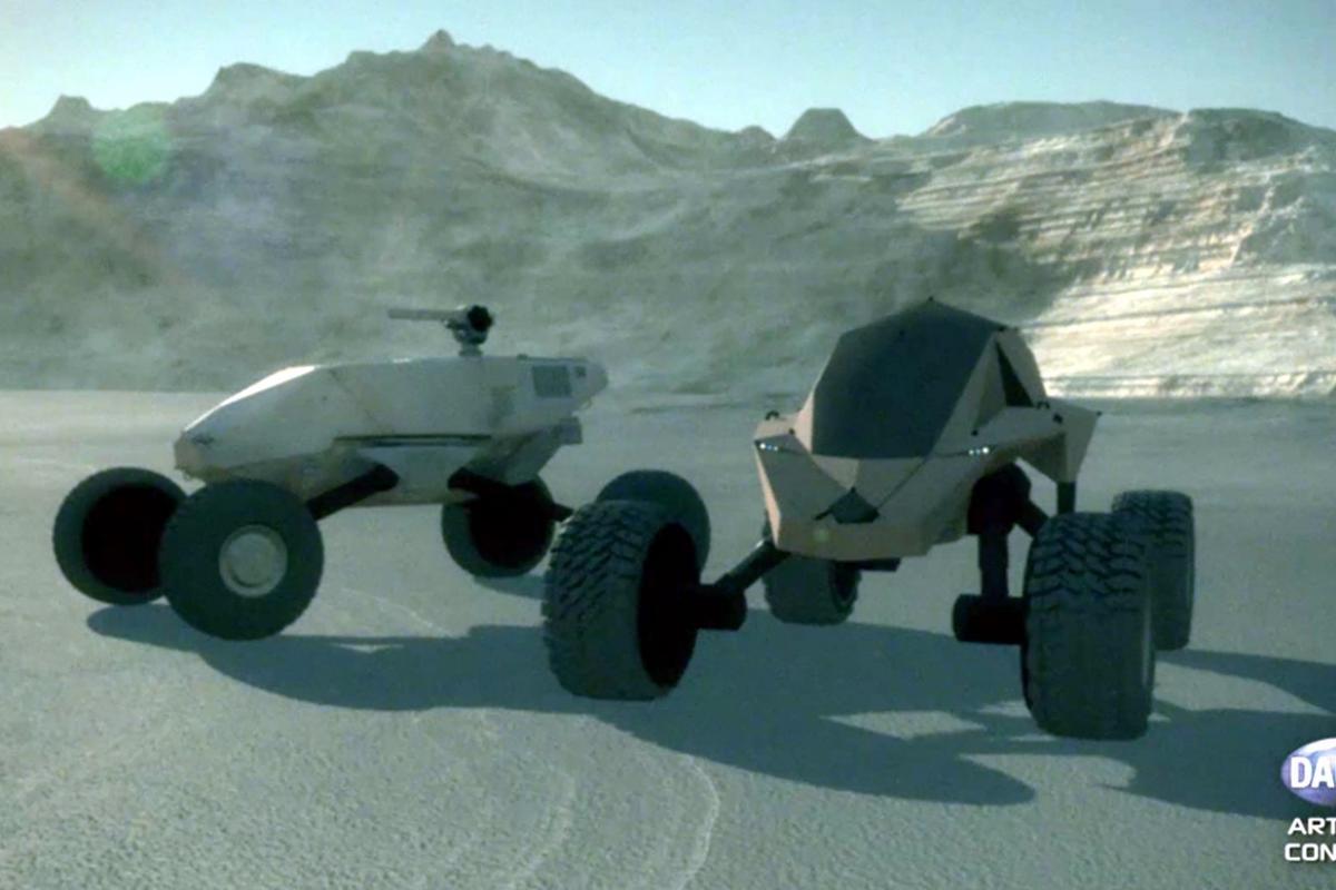 Artist's concept of the GVT-X concept vehicles