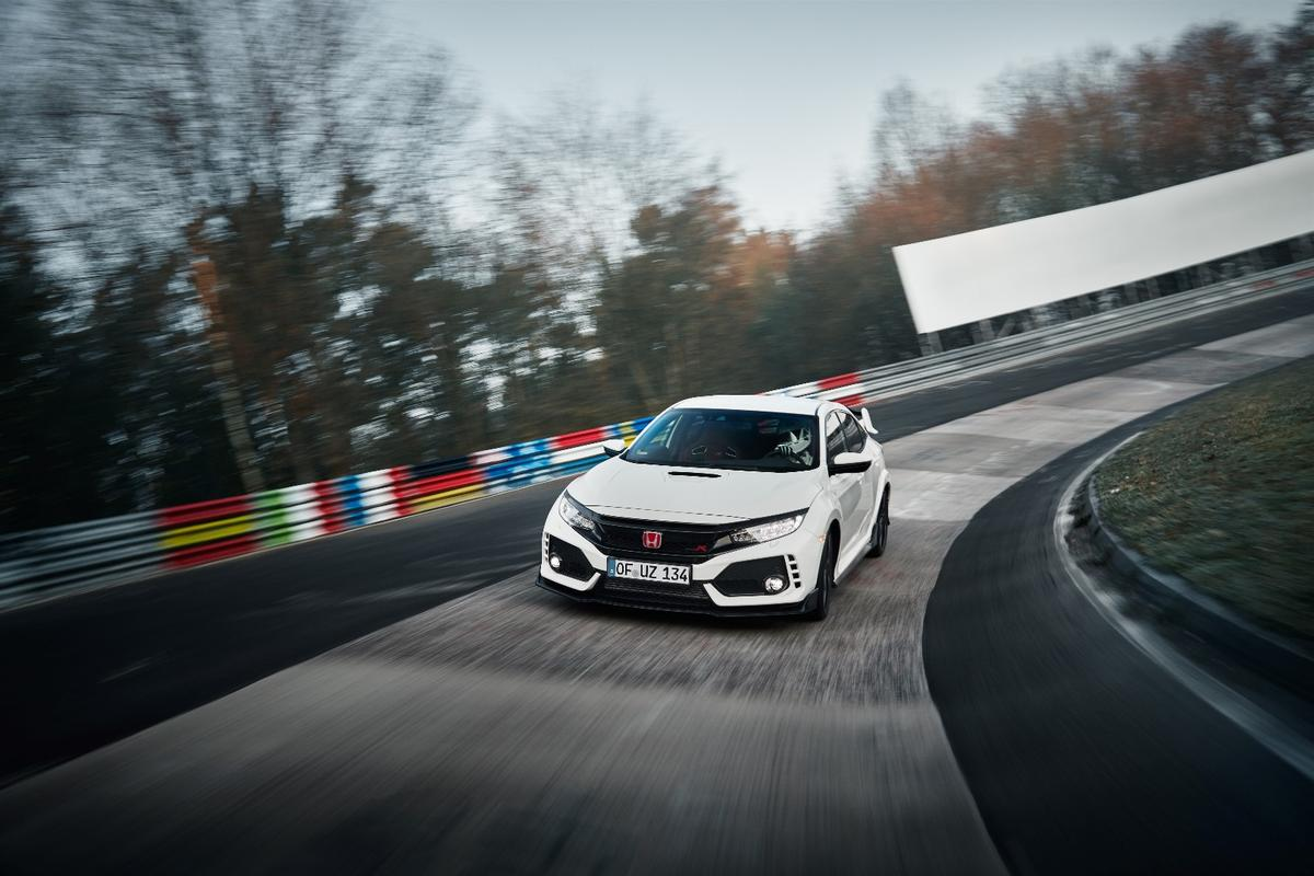 We've taken a look at the five fastest front-drivecars around the Nurburgring Nordschleife