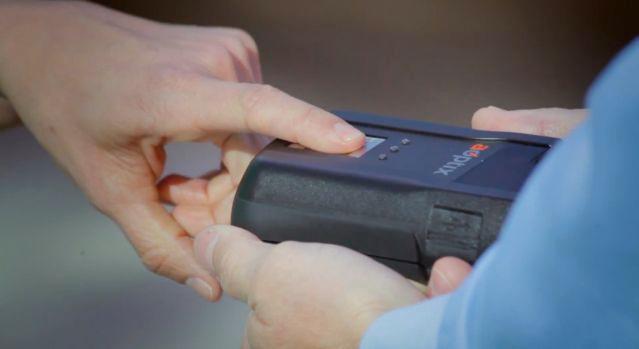 The Stratus MX incorporates a fingerprint sensor