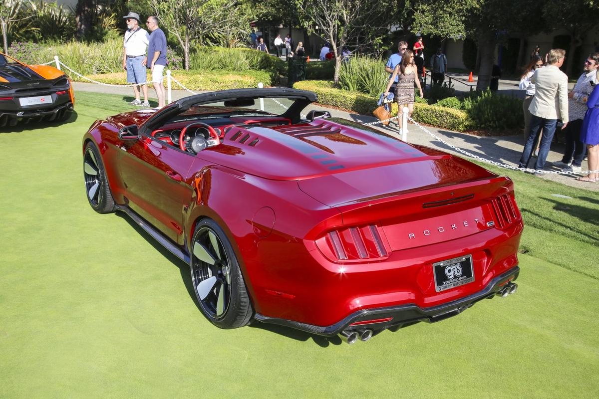 The Rocket Speedster gives the Mustang convertible a new look