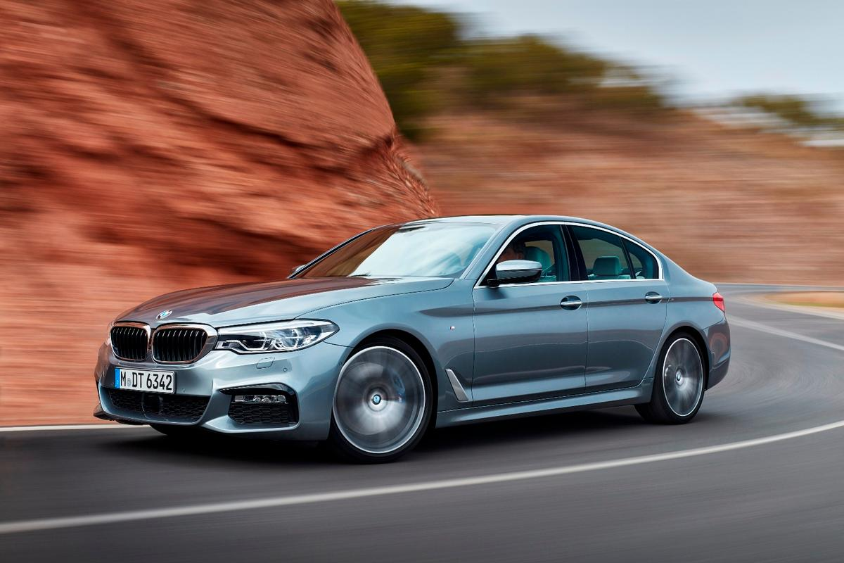 The seventh-generation BMW 5 Series will go into battle with the Audi A6 and Mercedes E-Class