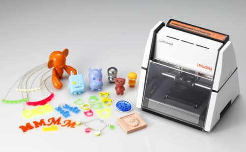 Unlike typical 3D printers, iModela carves rather than builds its models