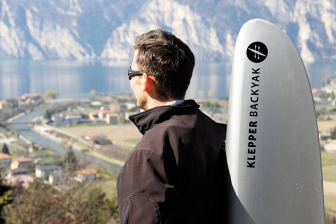 The Klepper Backyak is a portable, modular watercraft