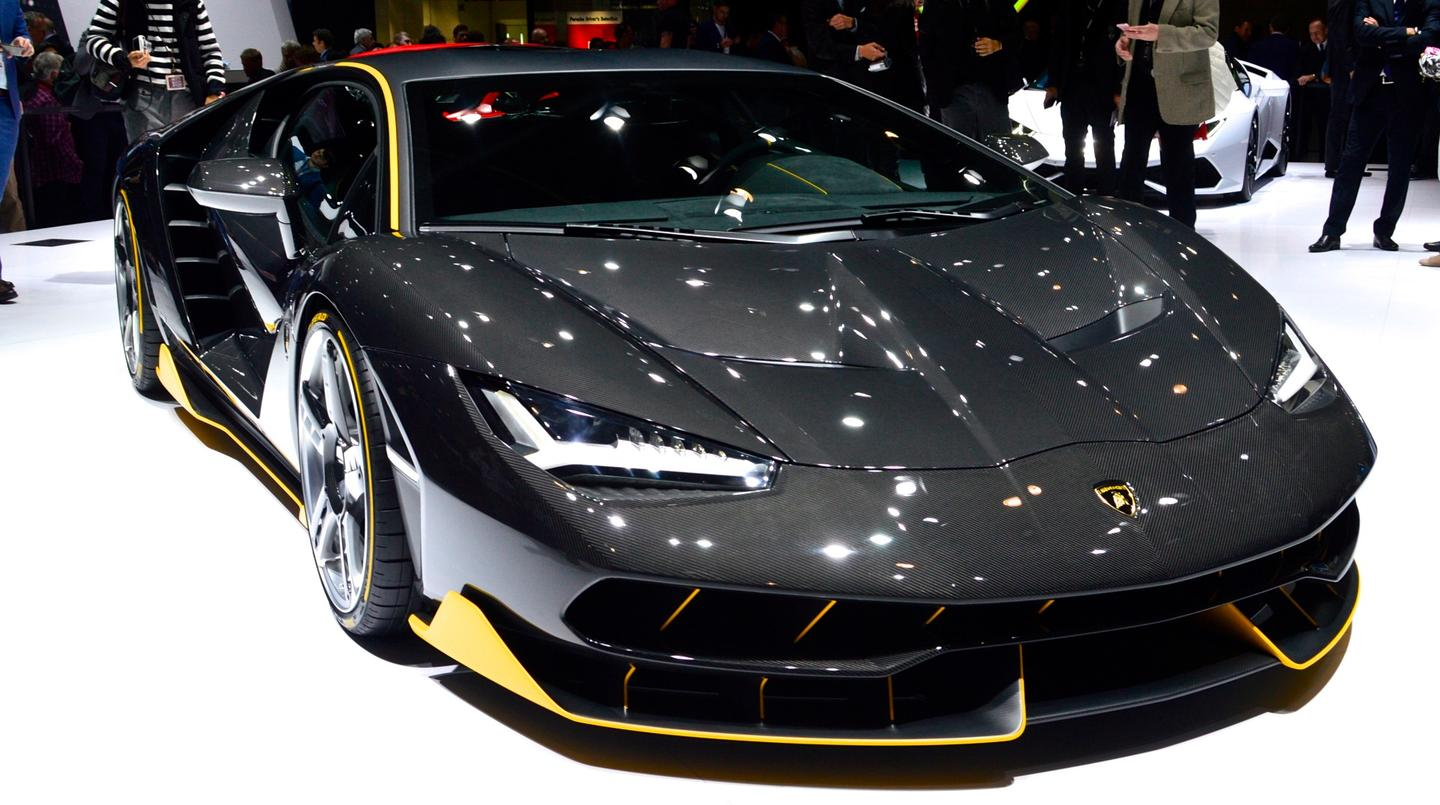 Lamborghini's Centenario debuts as a celebration of Ferruccio Lamborghini's would-be 100th birthday