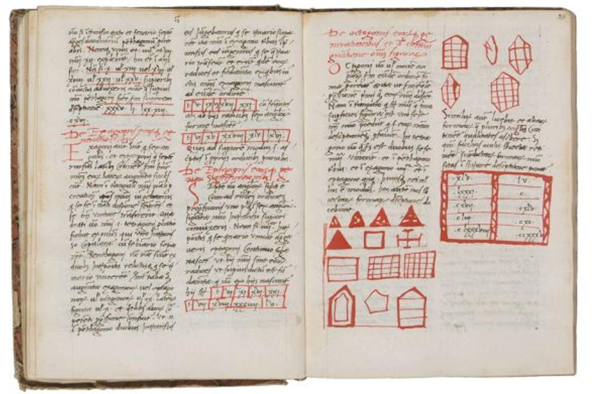 Sections of the historic 15th century Fibonacci manuscript are going to be put up for auction
