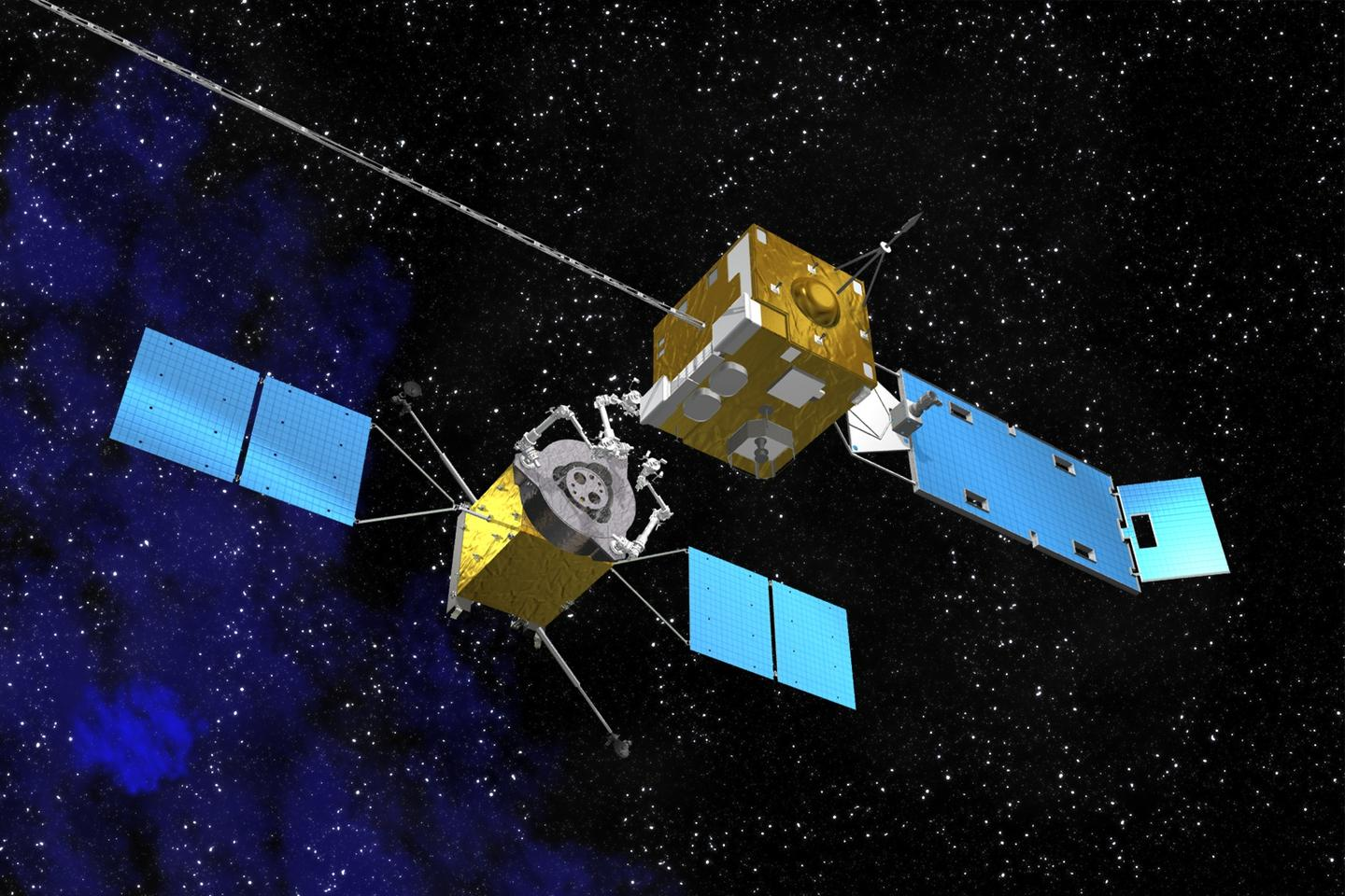 Artist's concept of a servicing satellite (Image: NASA)