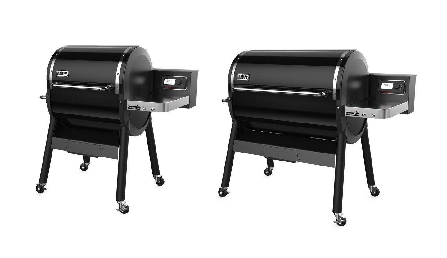 Weber is offering its SmokeFire grill in 24-in and 36-inch sizes