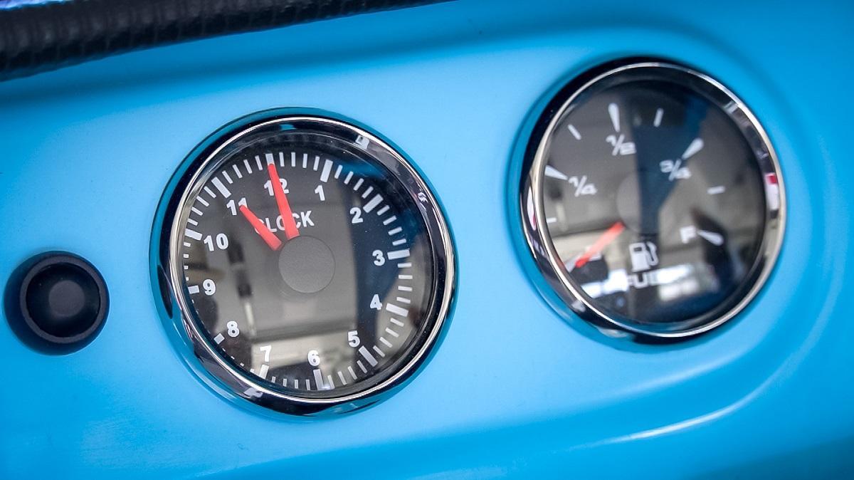 The Messerschmitt KR-202 Sport can travel roughly 100 miles per 6-liter fill-up