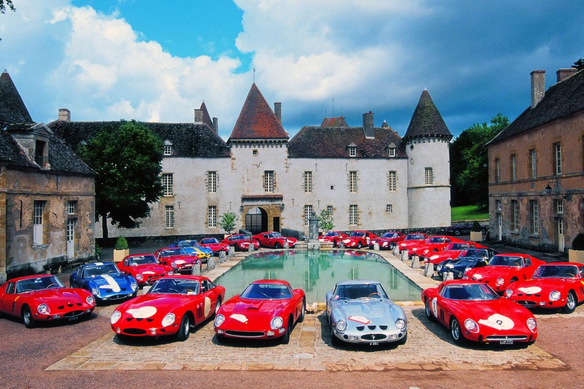 FerrariClassiche's 250 GTOAnniversary tour is held every five years