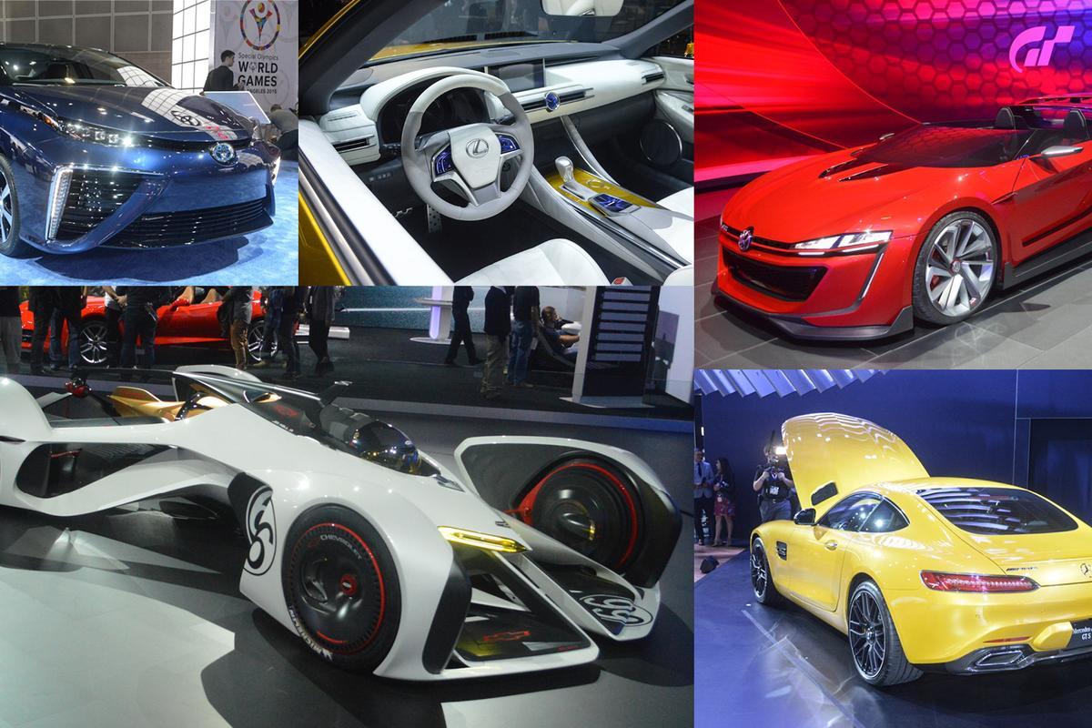 Photo highlights of the 2014 LA auto show (Photo: C.C. Weiss/Gizmag.com)