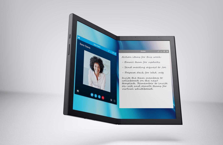 Dell Concept Ori имеет складной экран