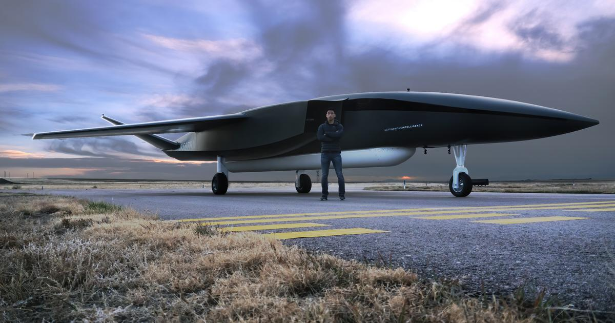 World's biggest drone to launch satellites into space from mid-air