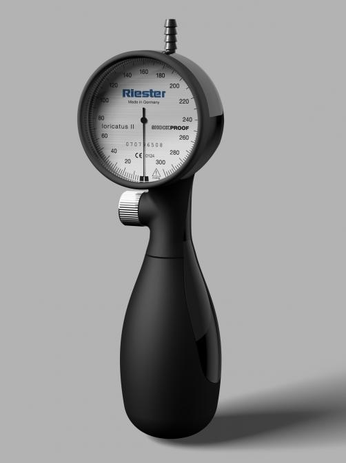 Shock-proof blood pressure meter