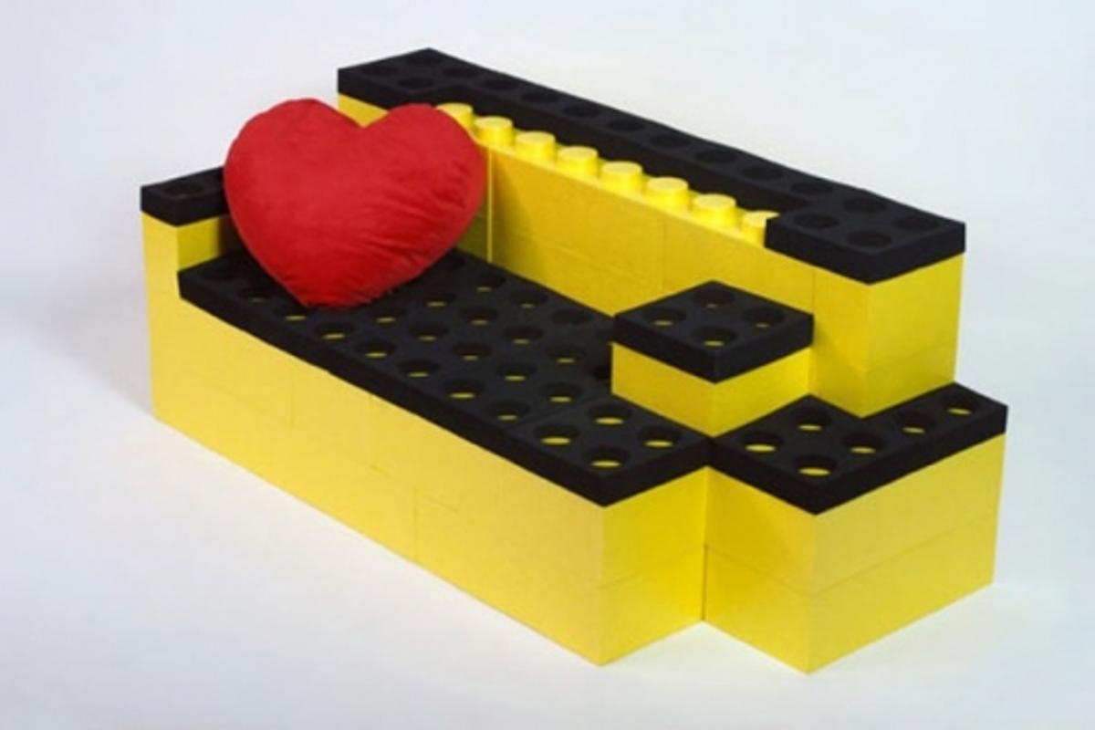 LunaBlocks modular building block sofa