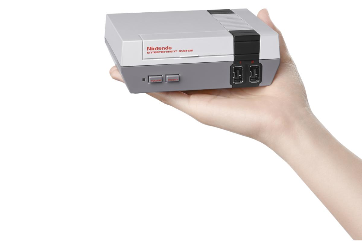 The Classic Mini is a mini replica of the NES and comes with 30 NES games built in