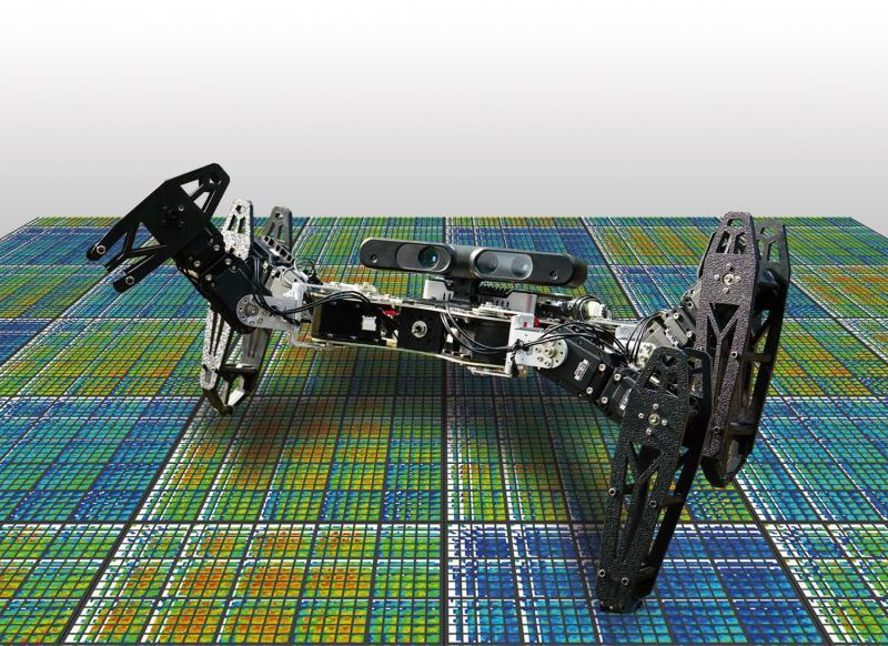 This robot will figure out how to limp on