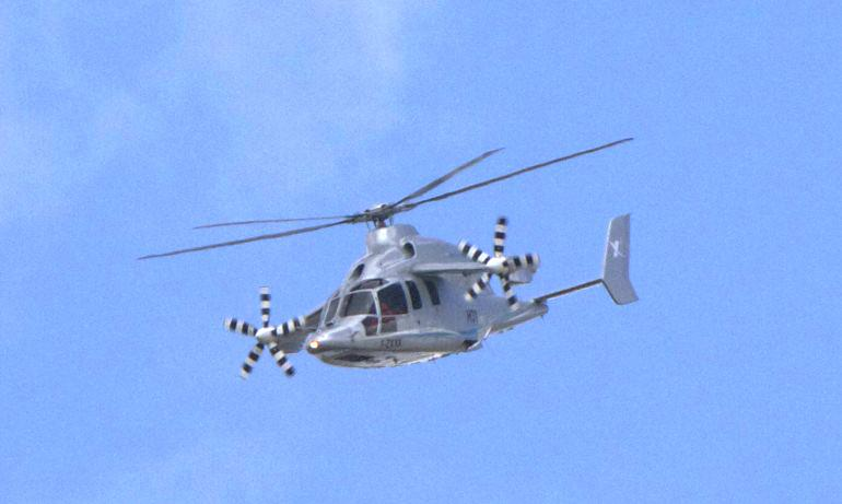 Eurocopter is set to build on its X3 demonstrator (pictured) with the X4 helicopter (Photo: Noel McKeegan/Gizmag)
