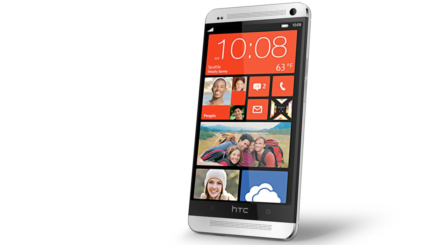 Is HTC prepping a new Windows Phone that takes some design cues from the One (pictured)?