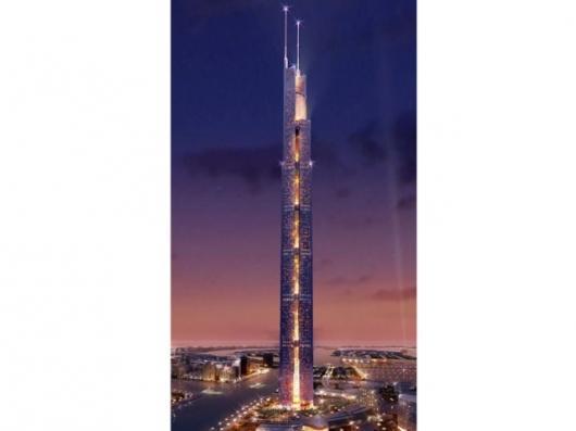The planned Nakheel TowerImage: Nakheel