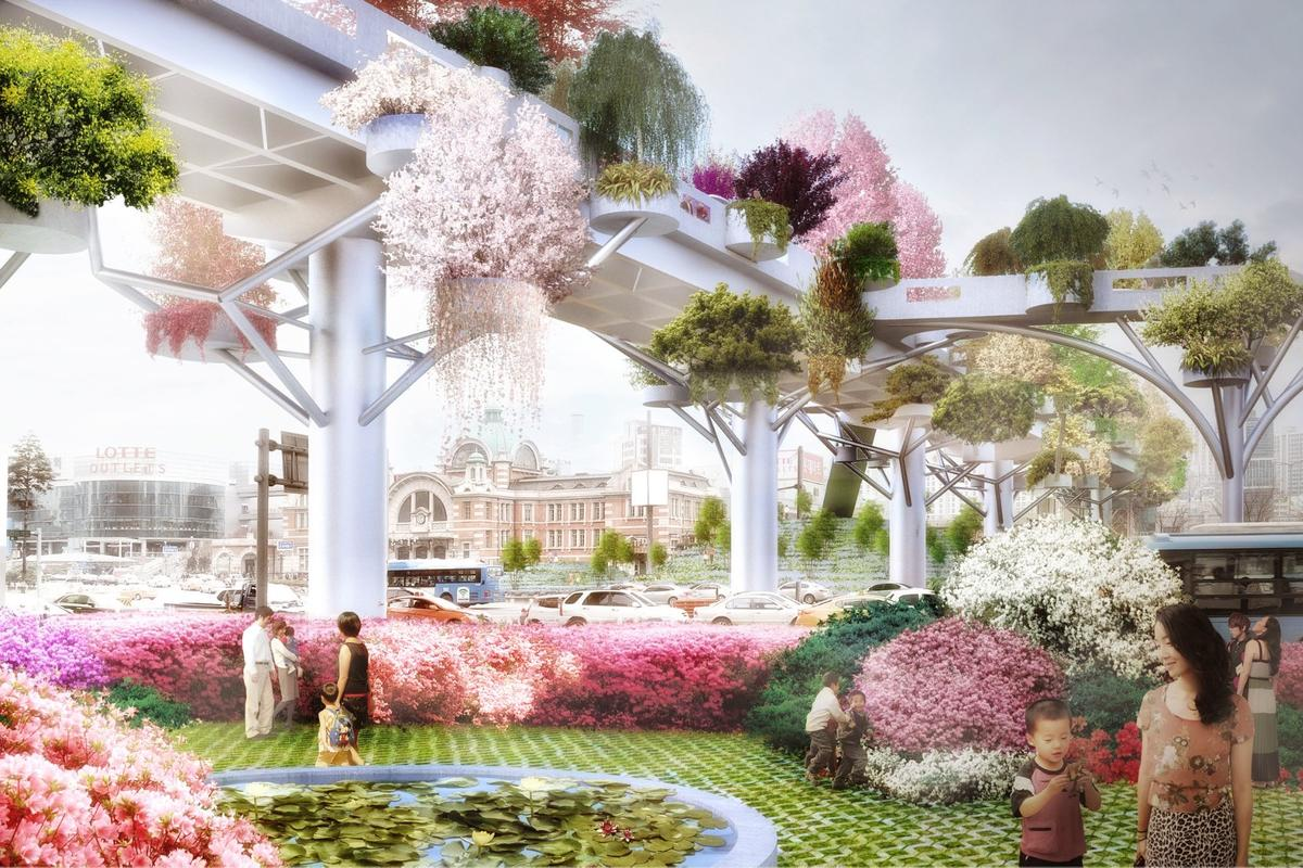 The Seoul Skygarden is due for completion in 2017