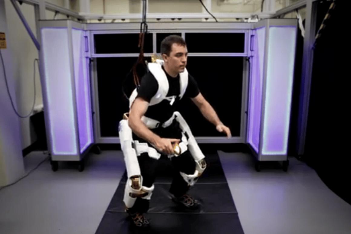 The X1 Robotic Exoskeleton (Image: NASA)