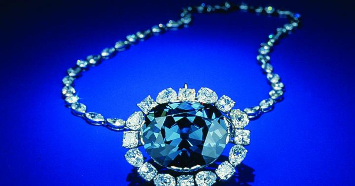 "Crown Jewels and Hope diamonds originated ""super deep"" in the Earth"