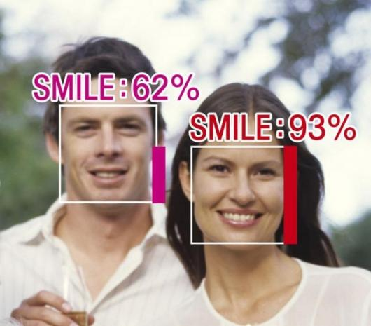 Omron's smile measurement technology