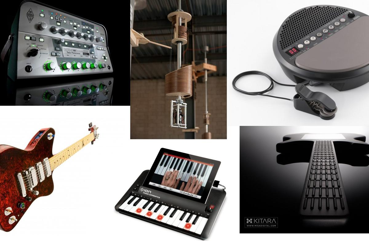 It's been a good year for musical instrument innovation - we take a quick look back at some of the highlights of 2011