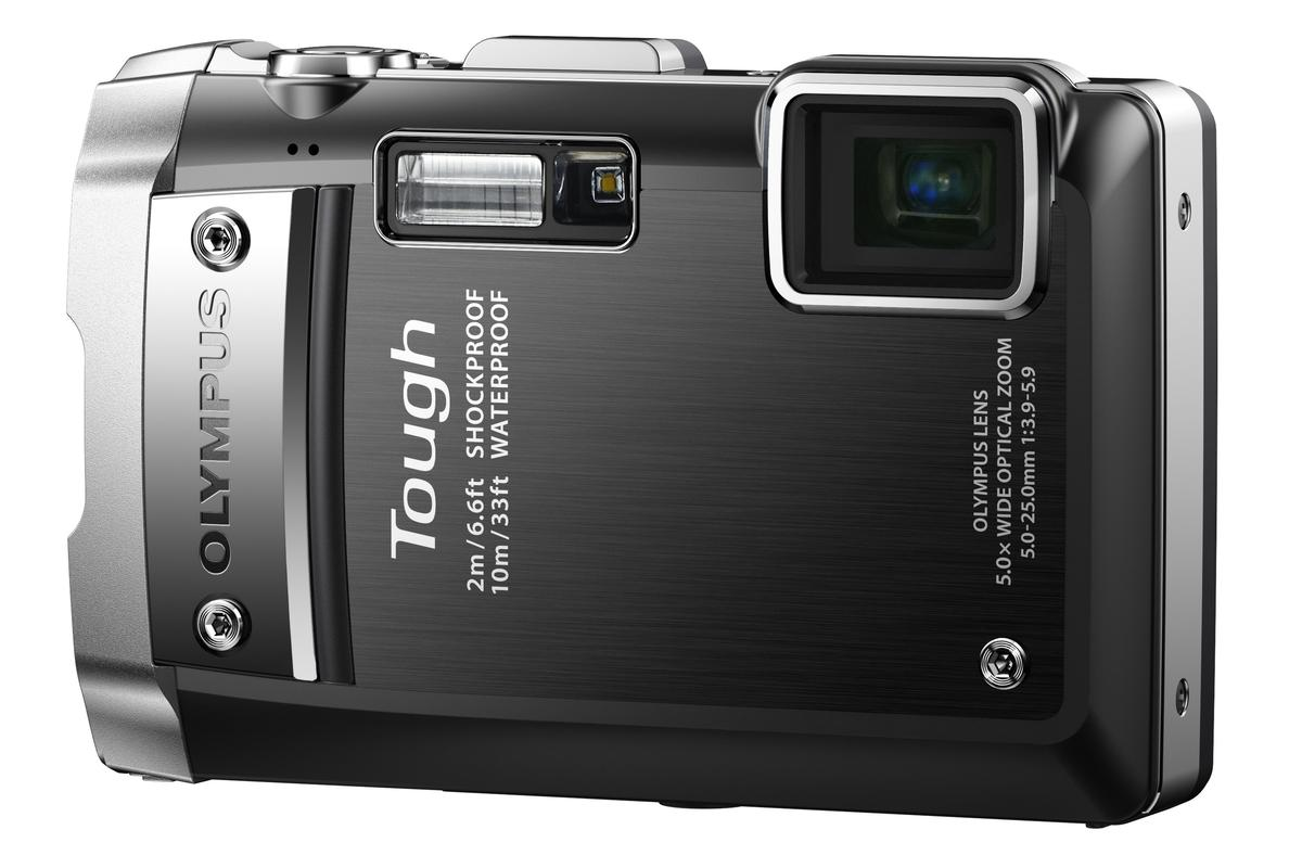 The 14 MP, 5x zoom, rugged TG-810 from Olympus is waterproof, dustproof, shockproof and able to operate in sub-zero conditions ... but it's also crushproof