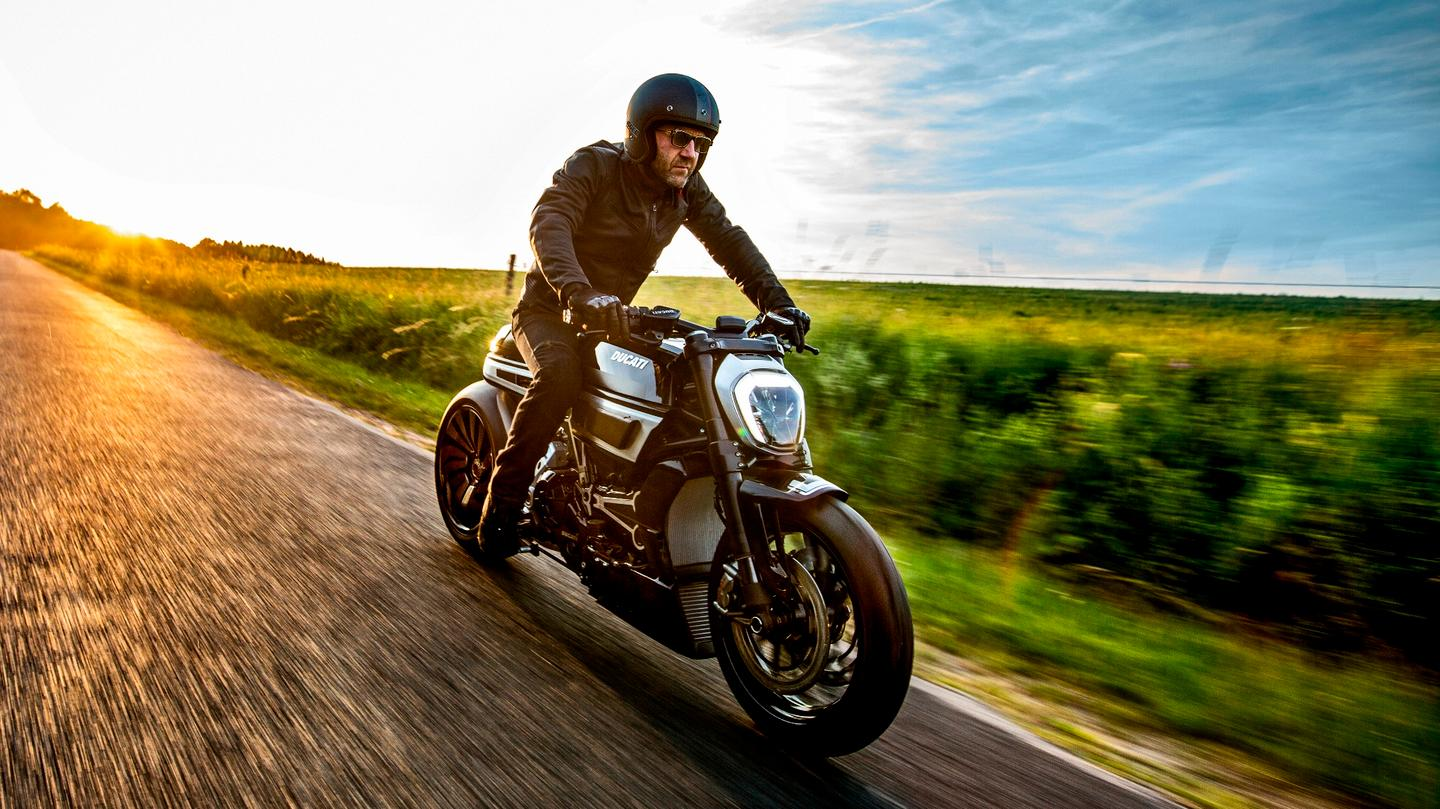 The Thiverval is a custom build based on a Ducati XDiavel by Freddie 'Krugger' Bertrand, the Belgian artisan who has twice won the AMD Custom Bike Building World Championship.