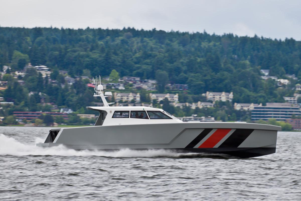 Zyvex Marine's latest nanotech-enabled lightweight boat, the LRV-17