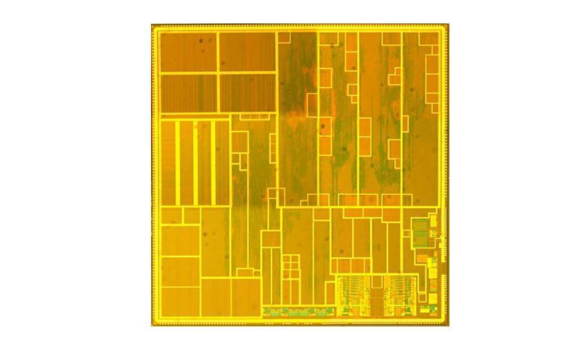Marcel van de Burgwal's multiprocessor microchip