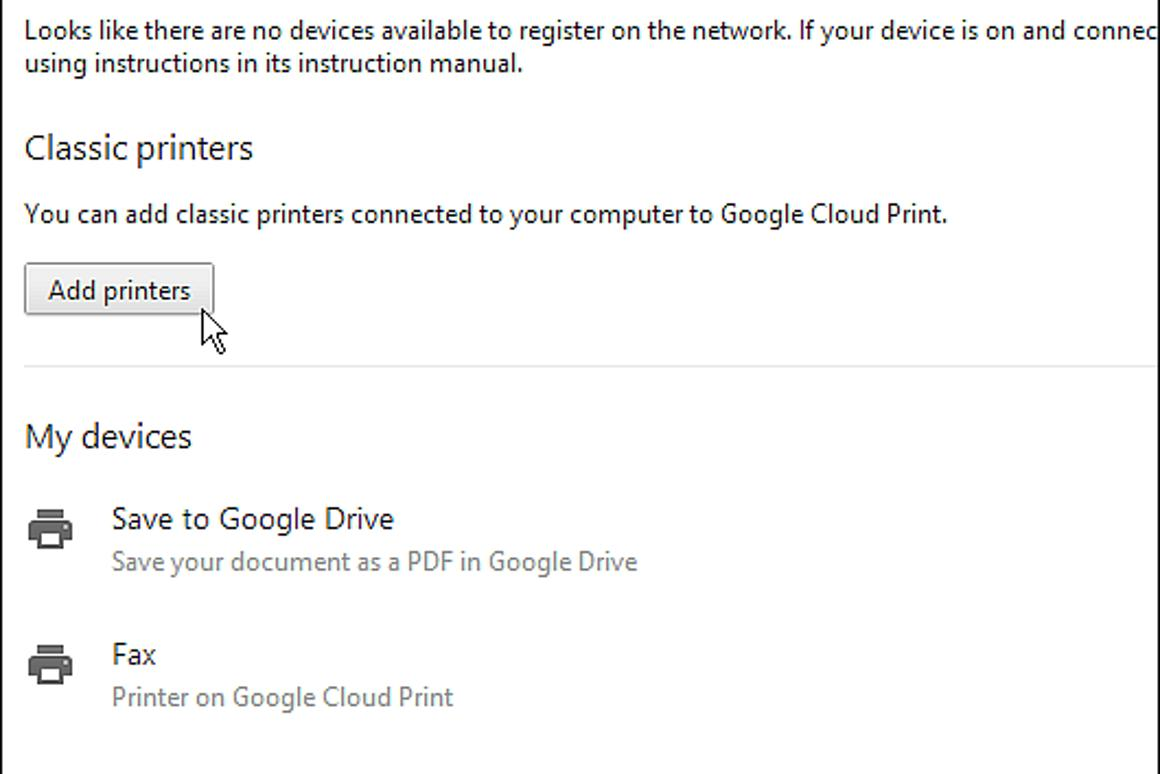 How to set up and use Google Cloud Print