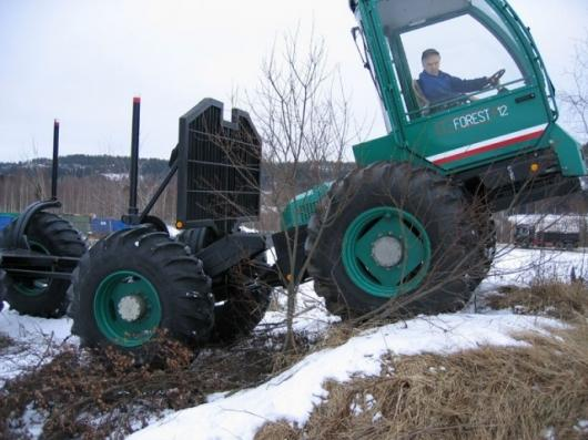 The El-forest forwarder