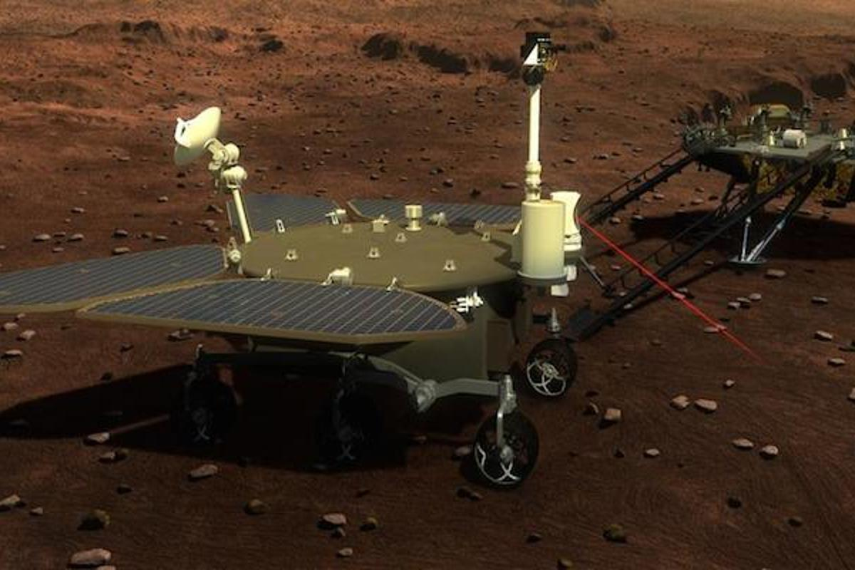 The Chinese State Adiministration of Science, Technology and Industry for National Defence has unveiled what its Mars 2020 rover and lander will look like