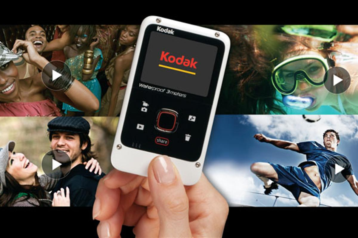 Kodak has unveiled a waterproof version of its Playfull camcorder in the form of the Playfull Waterproof Camera, which offers up to 720p video recording