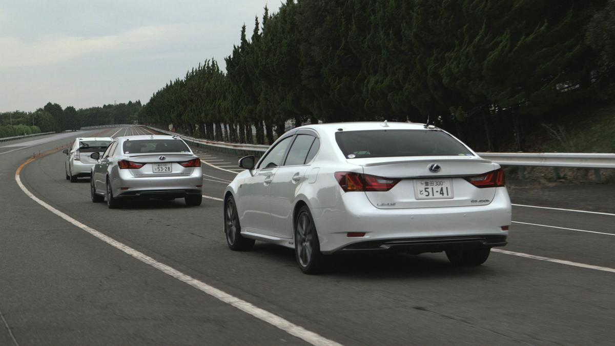 The Automated Highway Driving Assistant helps in highway following distance and lane maintenance