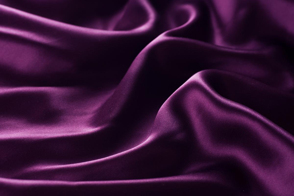 Silk treated with chlorine has been shown to kill anthrax-like bacteria within minutes of contact (Photo via Shutterstock)