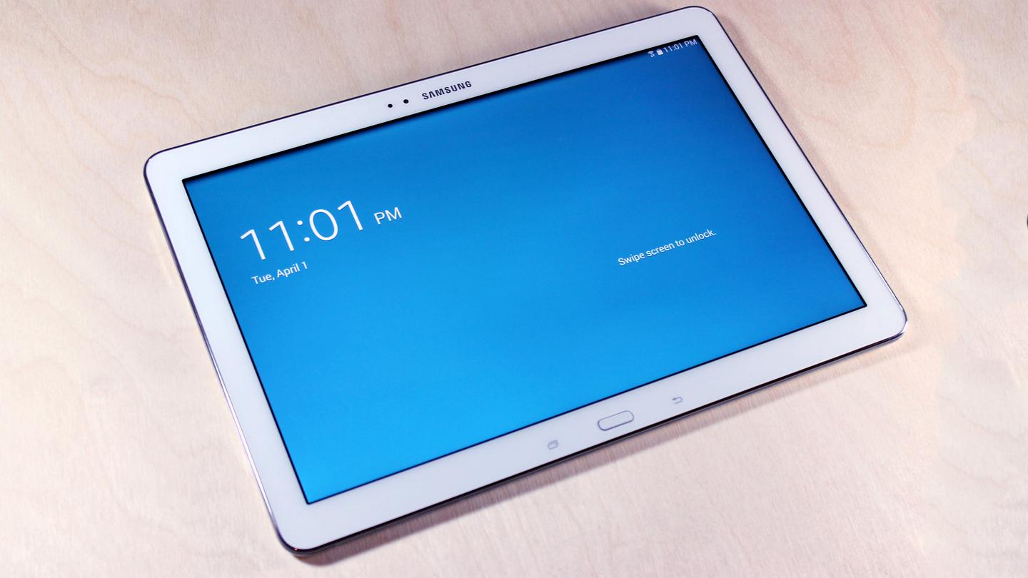 The Galaxy Note Pro has a huge 12.2-in screen