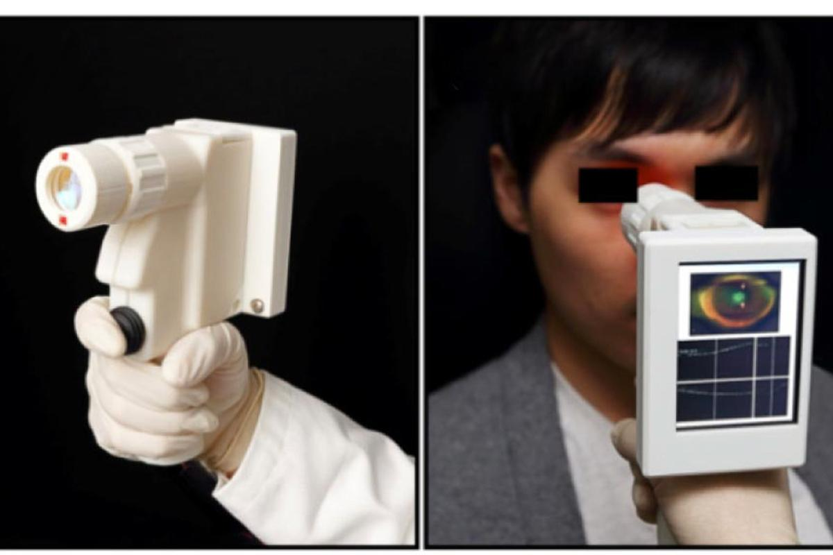 One of two versions of MIT's prototype portable scanner