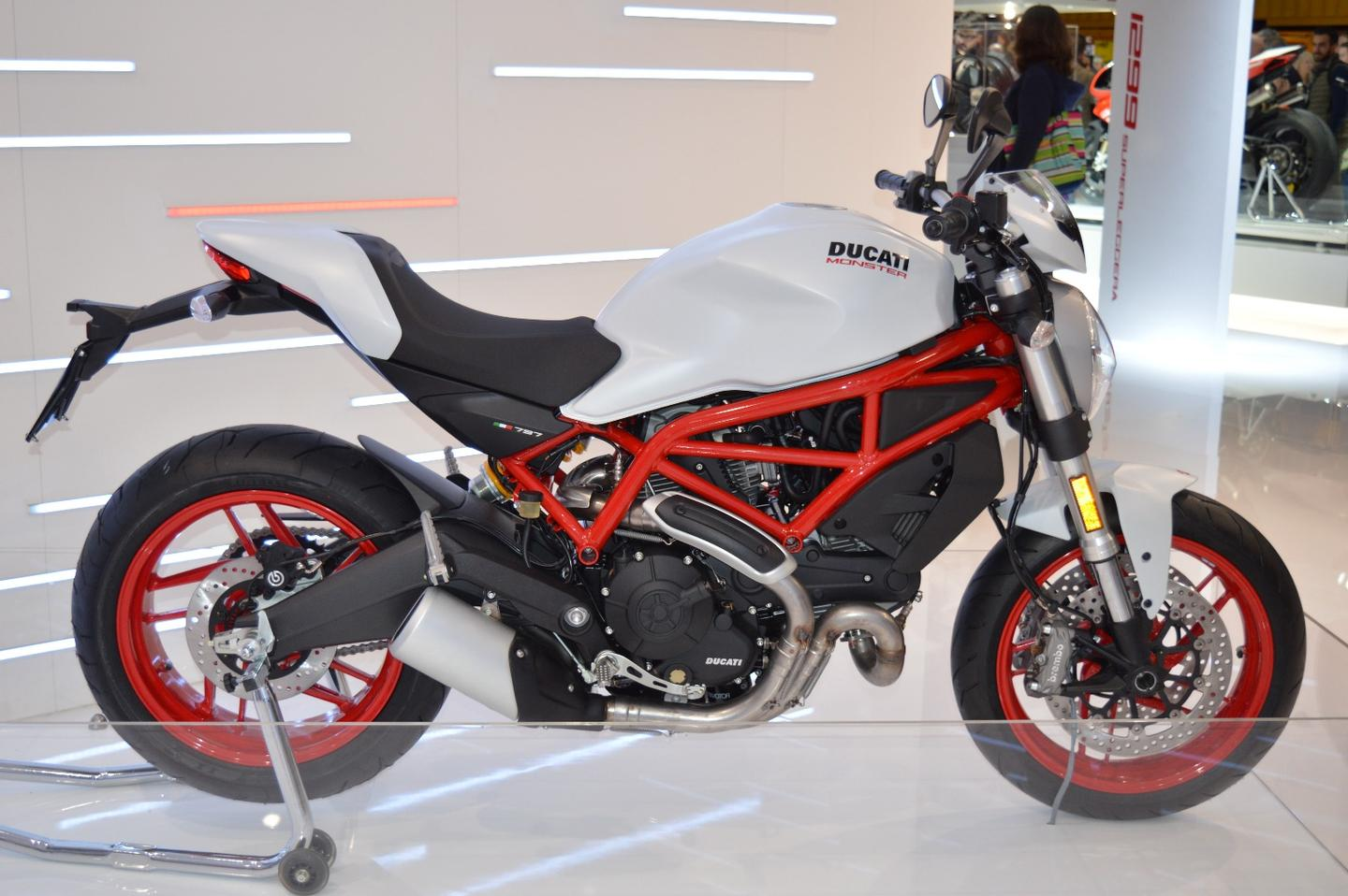 The new Ducati Monster 797 at EICMA