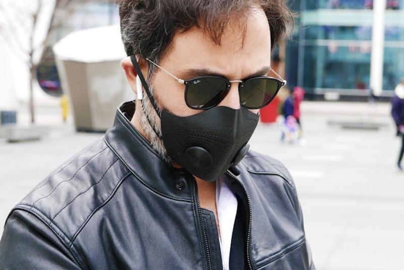 The Nua 3D Mask is a rare mix of function, form and fashion