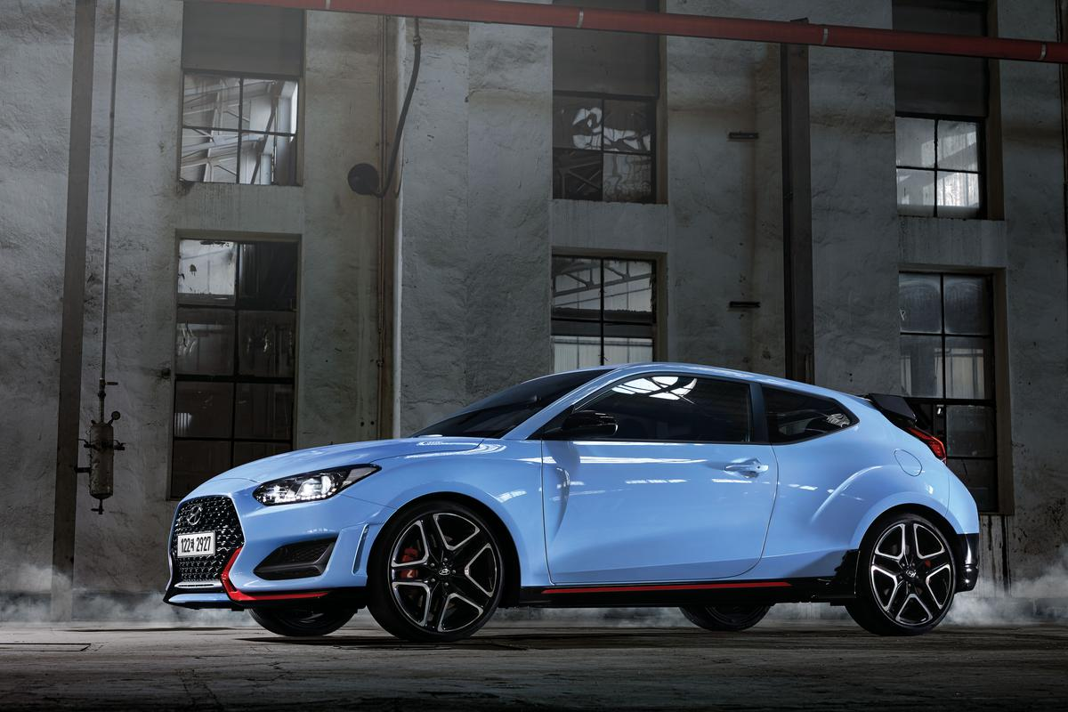 A sporty 8-speed DCT and turbo overboost are among the new toys for the 2020 Veloster N