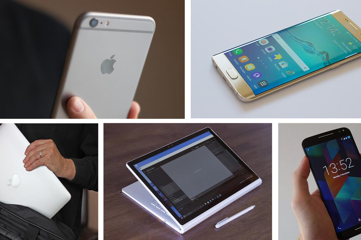 Gizmag picks the best smartphones, tablets, laptops and 2-in-1s of 2015