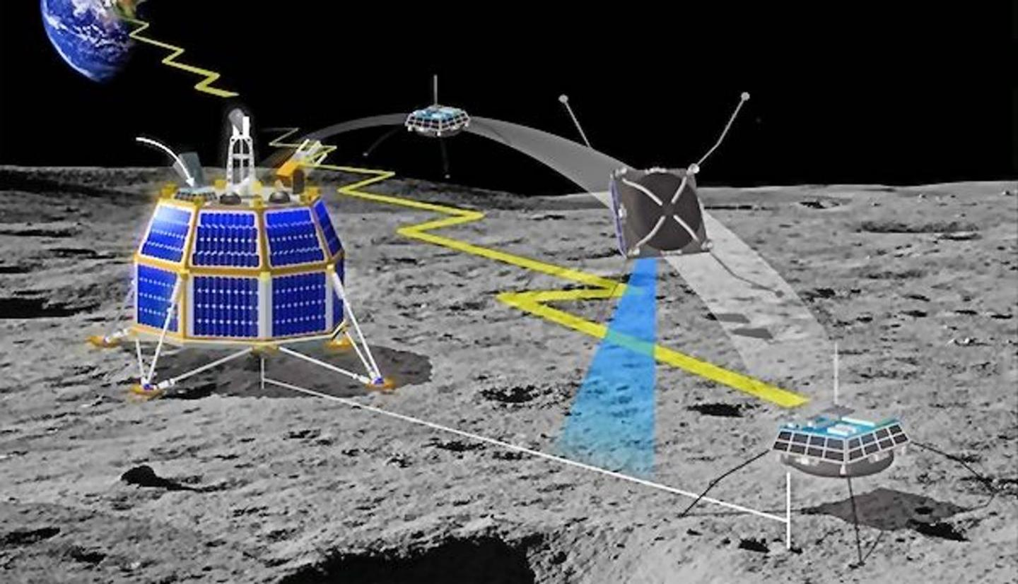 Moon Express envision a mule-faceted lander system that can explore and mine certain parts of the Moon